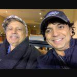 M Night Shyamalan with father Nelliate C Shyamalan
