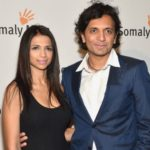 M Night Shyamalan with wife Bhavna Vaswani