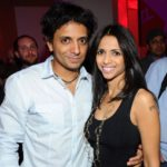 M Night Shyamalan with wife Bhavna Vaswani image