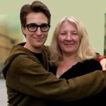 Rachael Maddow with partner Susan Mikula