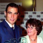 Vinnie Jones with mother