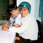 Virat Kohli with father Prem Kohli