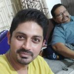 Arindam Roy with father Gopal Chandra Roy