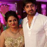 Arindam Roy with wife Anupa Das