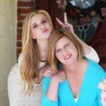 Caroline Sunshine with mother Karen Sunshine