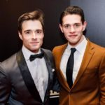Casey Cott with brother Corey Cott