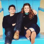 Casey Cott with sister Carly Cott