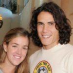 Edinson Cavari wioth former wife Maria Soledad Cabris Yarrus
