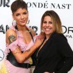 Halsey with mother Nicole Frangipane
