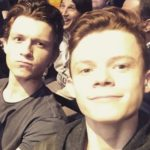 Harry Holland with brother Tom holland