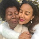 Heather Hemmens with her mother
