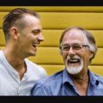 Joel Kinnaman with father Steve Kinnaman