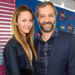 Judd Apatow with daughter Iris Apatow