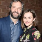 Judd Apatow with daughter Maude Apatow