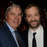 Judd Apatow with father Maury Apatow