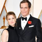 Michael Shannon with wife Kate Arrington