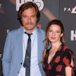 Michael Shannon with wife Kate Arrington image