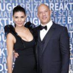 Paloma Jimenez with partner Vin Diesel image