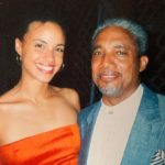 Parisa Fitz-Henley with father Hopeton Fitz-Henley