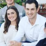 Patrick Cantlay with sister Caroline Cantlay
