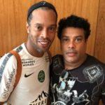 Ronaldinho with brother Roberto de Assis Moreira