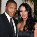 Ronaldinho with former wife Janaina Mendes