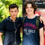Sam Holland with brother Tom Holland