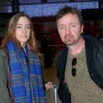 Saoirse Ronan with father Paul Ronan