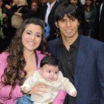 Sergio Aguero with wife Giannina Maradona