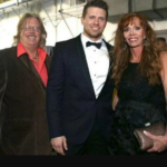 The Miz and his father George Mizanin and mother Barbara Pappas image.