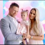 The Miz with his wife and his daughter Madison Jade Mizanin image