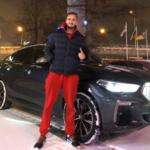 daniil medvedev BMW car image.