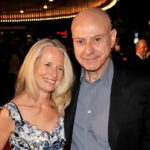 Alan Arkin with wife Suzanne Newlander image