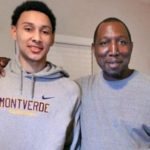 Ben Simmons with father Dave Simmons