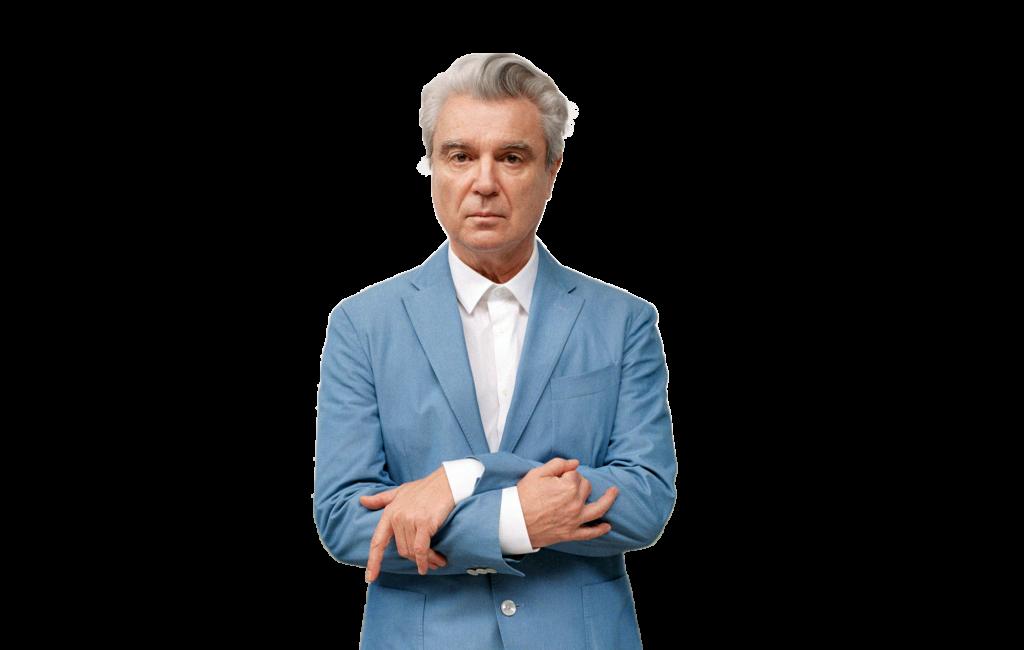 David Byrne transparent background png image