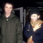 David Byrne with former wife Adelle Lutz image
