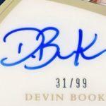 Devin Booker signature