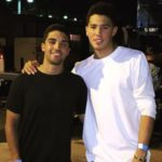 Devin Booker with brother Davon Wade