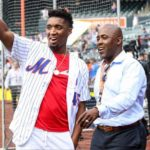Donovan Mitchell with father Donovan Vernell Mitchell Sr