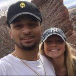 Jamal Murray with girlfriend Harper Hempel