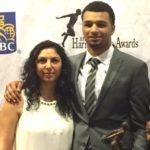 Jamal Murray with mother Sylvia Murray