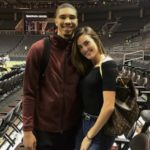 Jayson Tatum and Samantha Amos dated