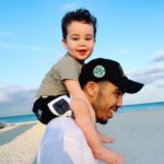 Jayson Tatum with his son image
