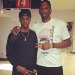 Joel Embiid with brother Arthur Embiid