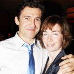 Julianne Nicholson with husband Jonathan Cake