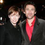Julianne Nicholson with husband Jonathan Cake image