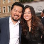 Justin Lin with wife Chen Yun-ing
