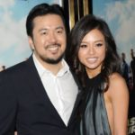 Justin Lin with wife Chen Yun-ing image