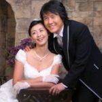 Miki Yim with husband Sung Kang