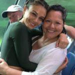 Nathalie Kelley with mother Rosita Kelley